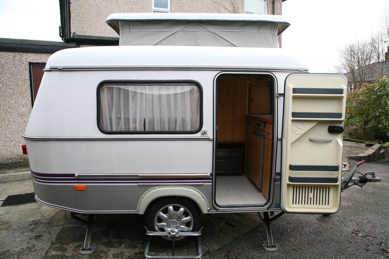 Eriba Caravan Sales Eriba Puck 1995 Sold